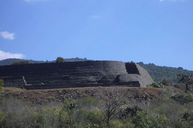 Purepecha Indian Temple - Michoacan
